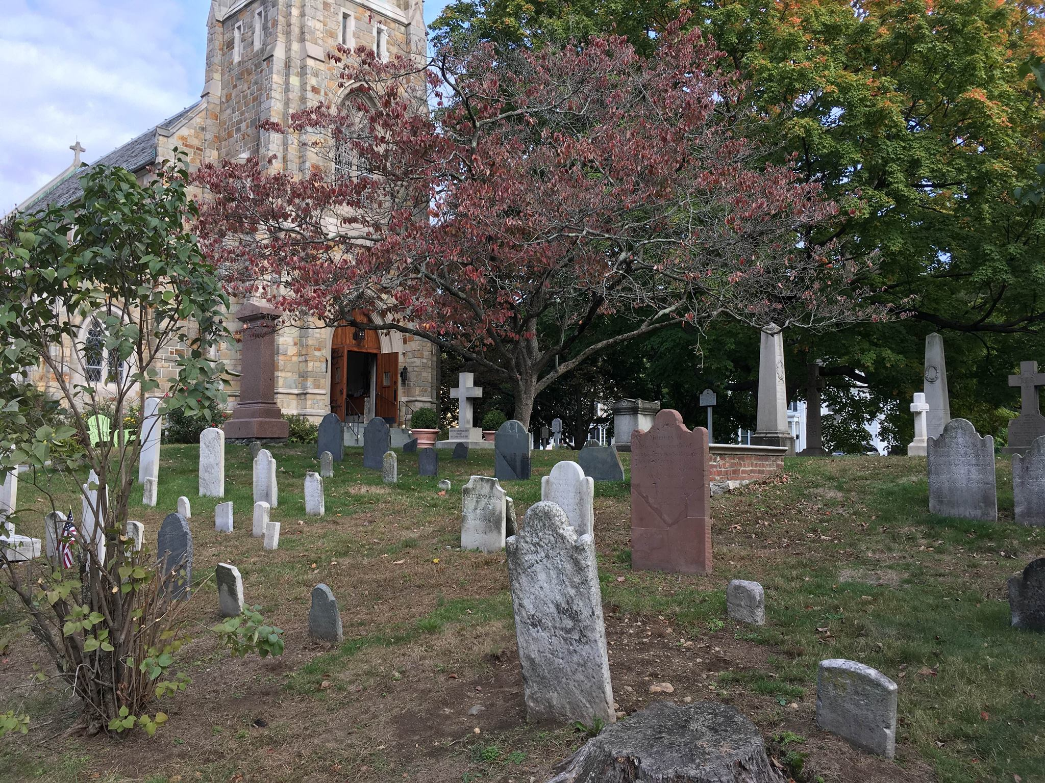 churchyard-autumn